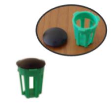Пластмасова кошничка